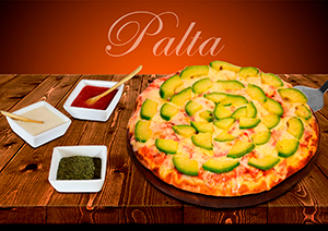 Pizza de Palta